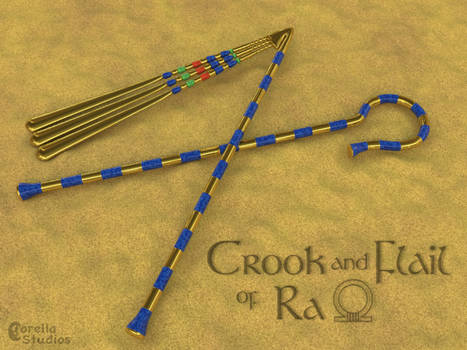 The Crook and Flail of Ra