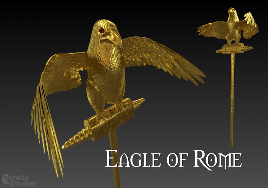 Eagle of Rome by CorellaStudios on DeviantArt