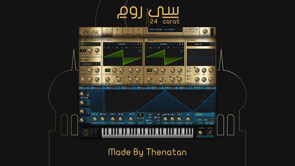 Xfer Records - Serum Gold Skin 24 Carat by Thenatan on