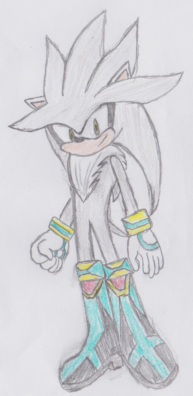 Silver The Hedgehog Sonic Boom Design by OmniAntares on ...