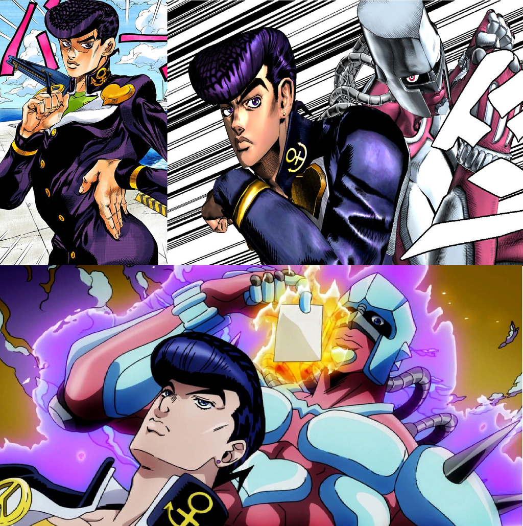 Which Is The Better Design: Josuke (DiU) By OmniAntares On