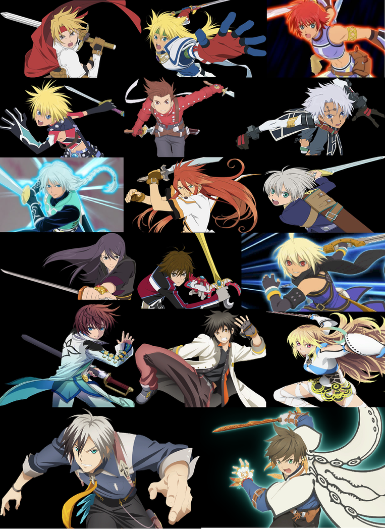 Who Is the Best Tales Protagonist by JoJoStardust
