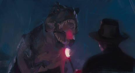 Jurassic Park Study 001