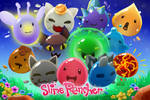 I made my own Slime Rancher backround!