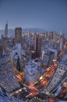 Midtown Manhattan HDR by ADLavinsky