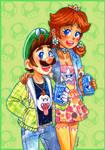 SuperMarioShips 3 Luigi + Daisy