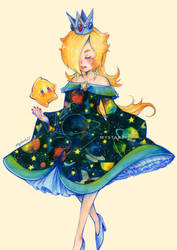 Galaxy waifu by Mystar21