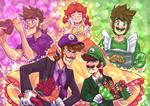 Luigi vs Waluigi : Valentines Rivals
