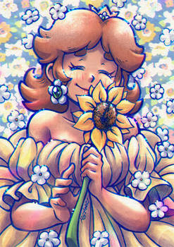 Sunflower Princess Daisy