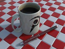 Mechanical_Pencil_+_Coffee_Mug by BarberofCivil