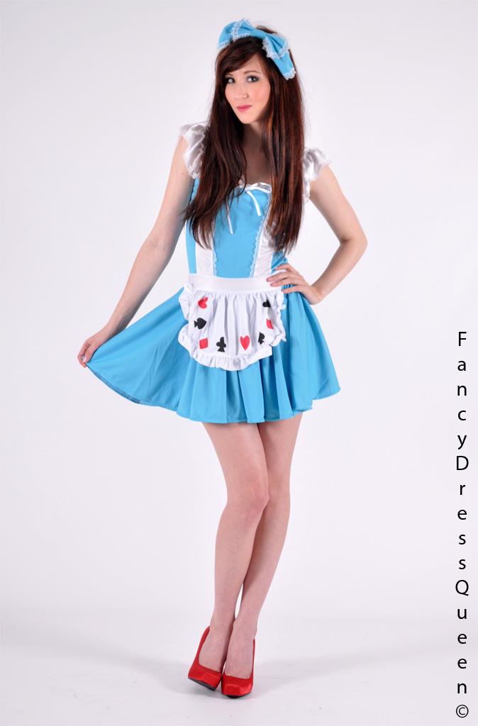 Ladies Alice in Wonderland Costume by fancydressqueen on ...
