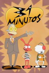 31 Minutos Poster in Rocko's Modern Life style by LACardozaRojas