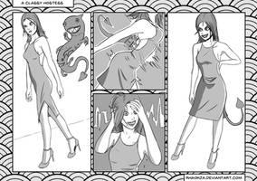 A classy Hostess 2 by Rhaokja