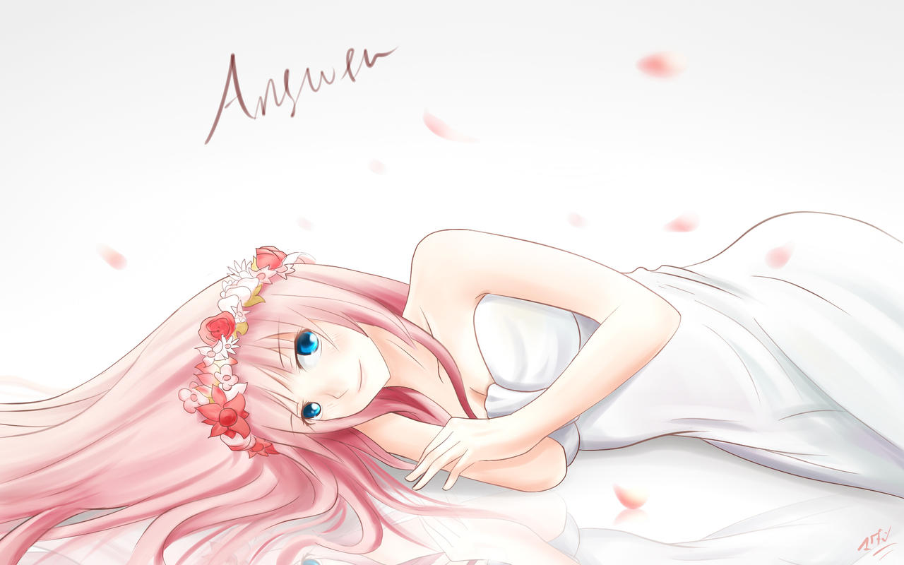 Megurine Luka - Answer by jurrig