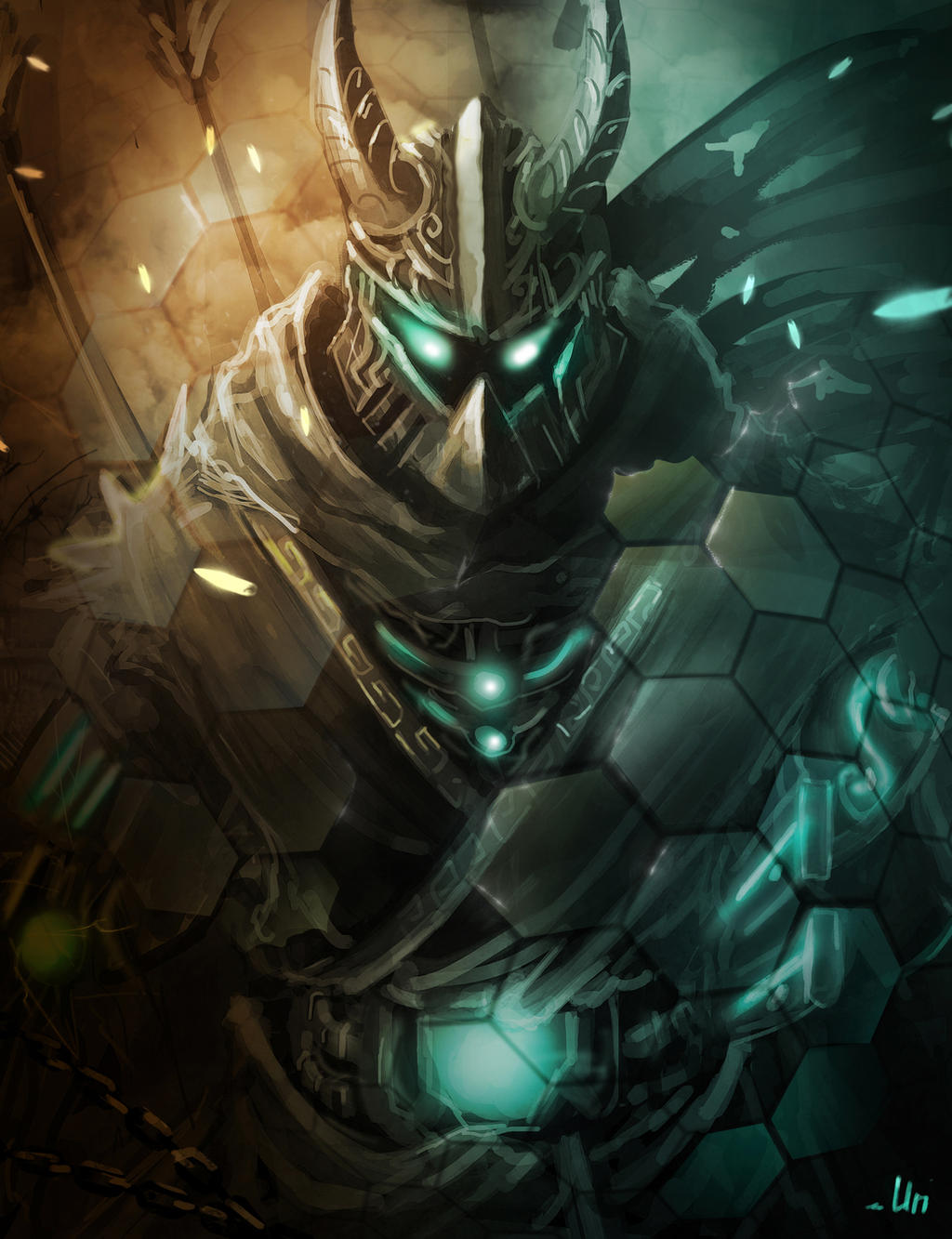 Cyborg ninja by jurrig