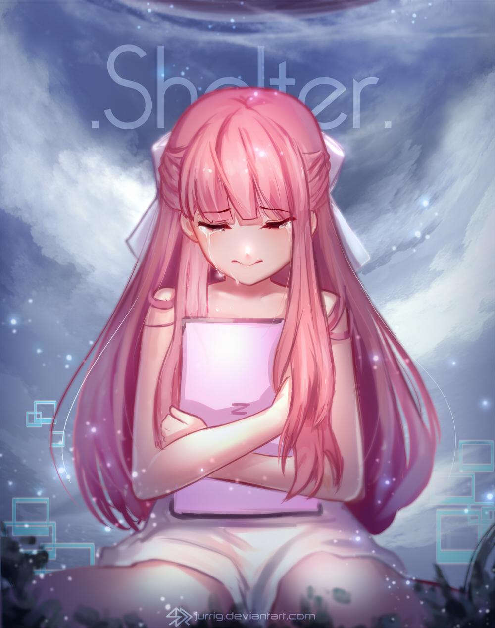 Anime Girl On Bed Gif