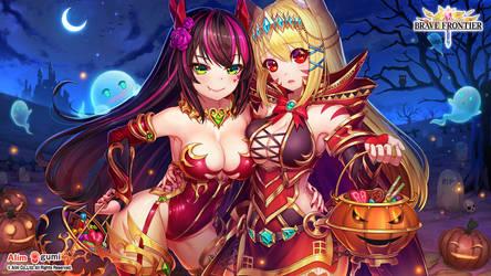 Happy Halloween [Brave Frontier Halloween Poster]