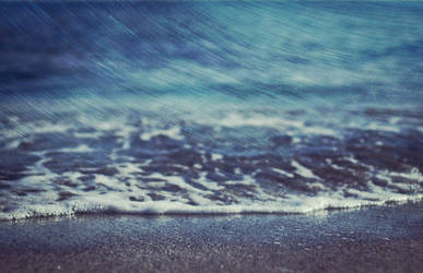 Wave filled my empty thoughts