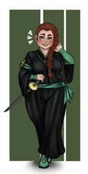 Alyssa, Lieutenant of the Ninth by Crimson-Agony