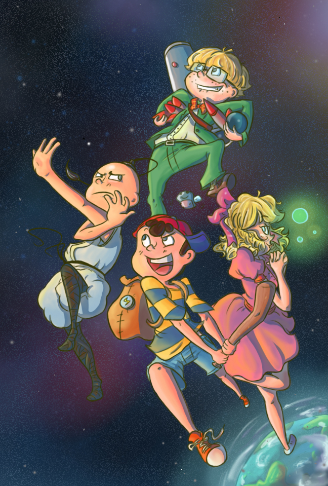 Topic des fanarts Nintendo  Earthbound_by_loopy_lupe-d35xqq4