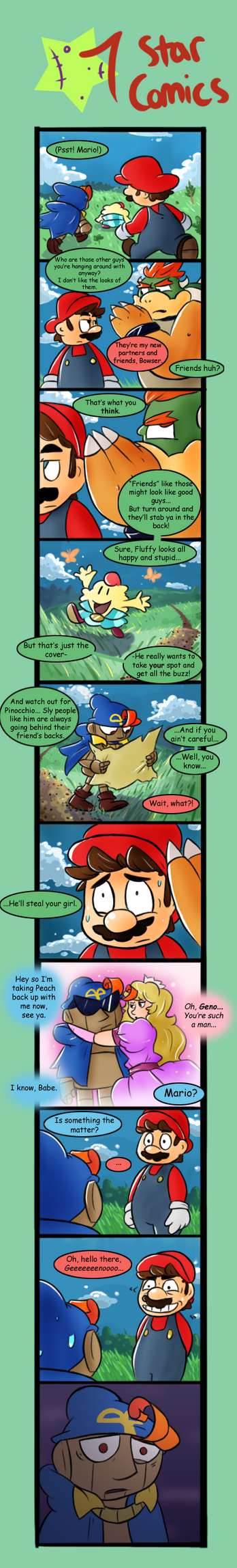 Seven Star Comics 32 by Loopy-Lupe