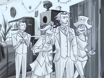 Trucy's dad has got it goin on