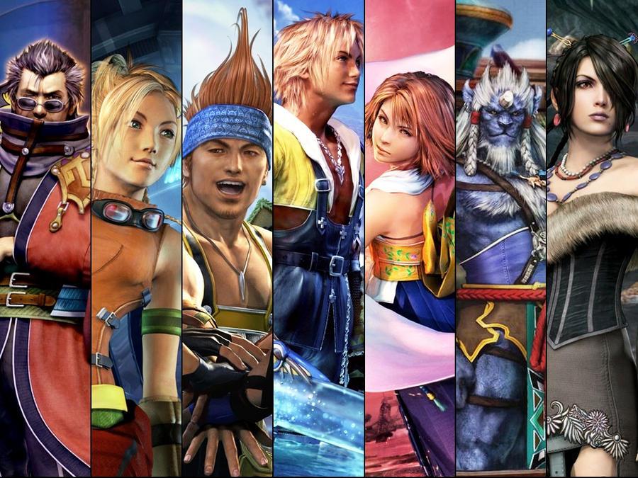 Final Fantasy X Edited by kaztelli