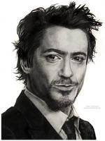 Robert  Downey Jr. by MeduZZa13