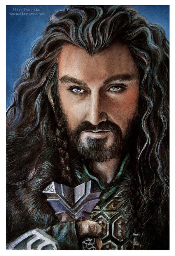 Thorin Oakenshield - Richard Armitage by MeduZZa13