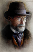 Sir Malcolm Murray (Timothy Dalton) by MeduZZa13