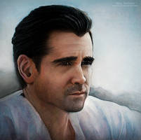 Colin Farrell by MeduZZa13