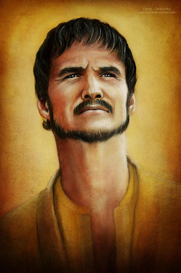 Prince Oberyn Martell by MeduZZa13