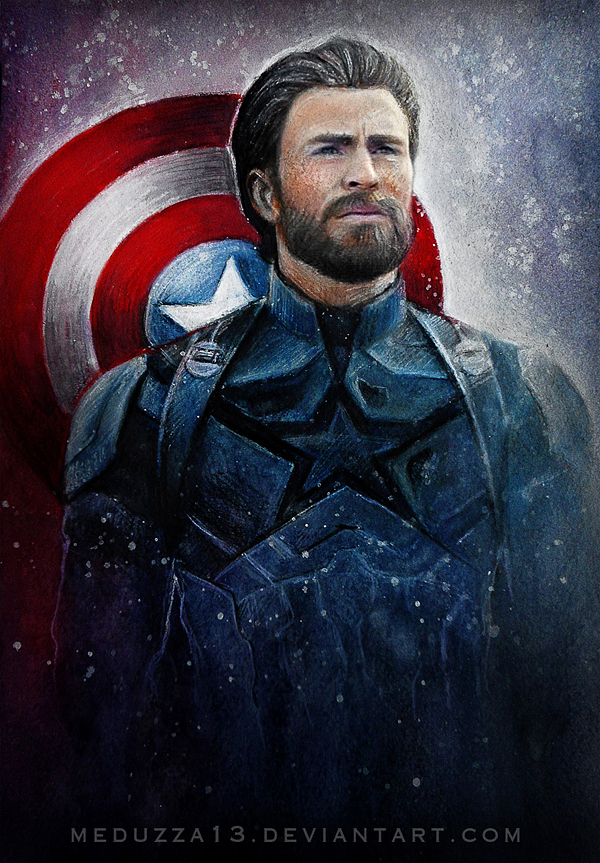 Captain America - Steve Rogers by MeduZZa13