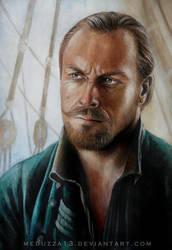 Captain Flint  (Black Sails) by MeduZZa13