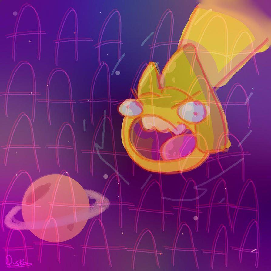 So it rains Diamonds on Saturn... by Duskiz