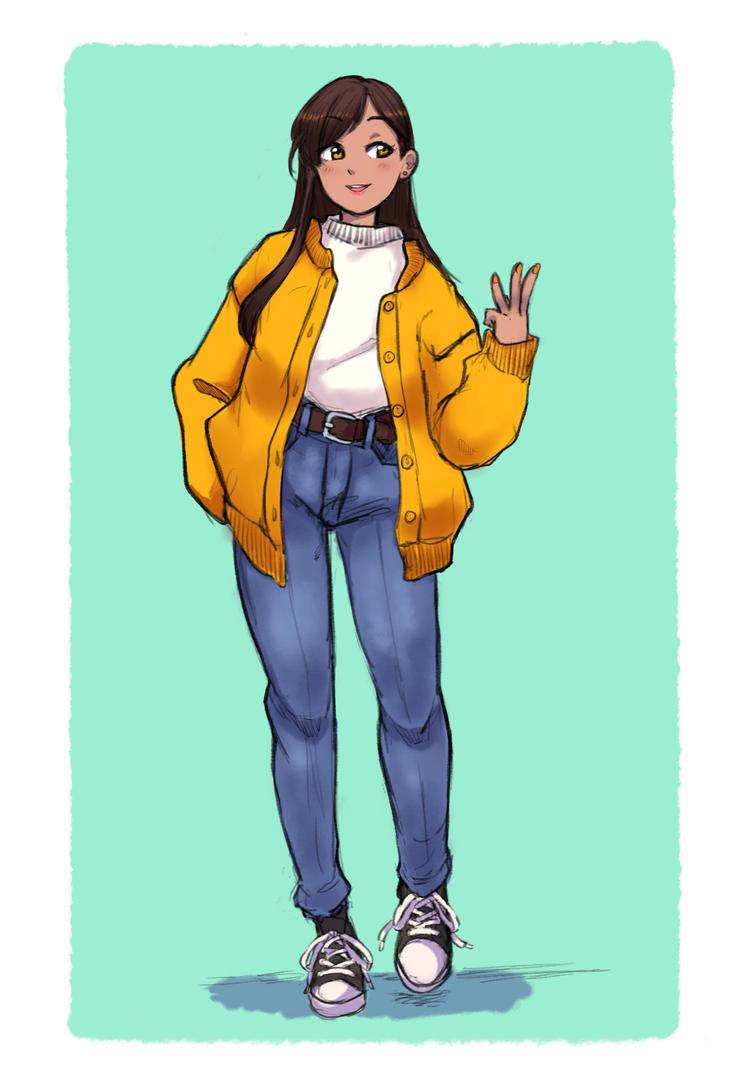 Pam sketch by akio2a