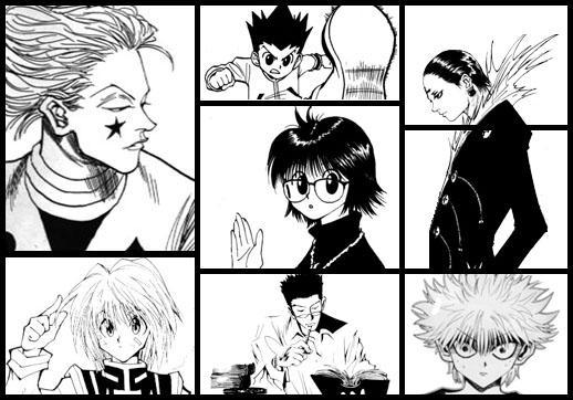 hunter hunter manga ile ilgili görsel sonucu