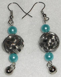 Metal Ball Earrings by YenriStar