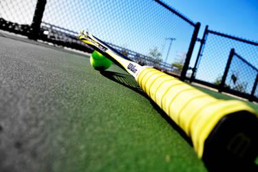 Racquet Perspective by Felewin
