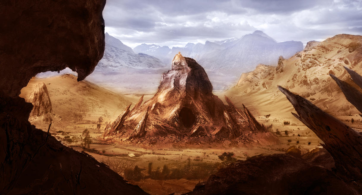 Matte Painting 1 - 3 by AhYou