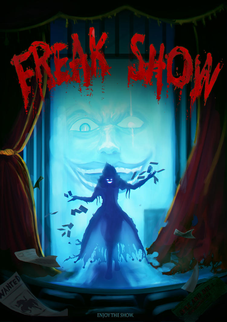 Concept Design  - Freak Show Poster by AhYou