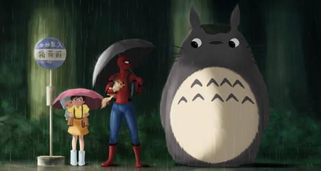 My Neighbor Spiderman by AhYou