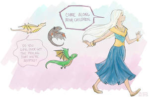 Dany and The Kids by Gricken