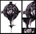 Celtic Wolf - tattoo