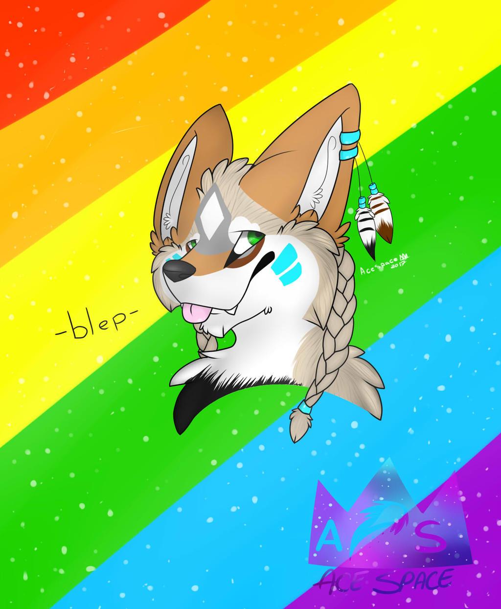 gay spirit bleps
