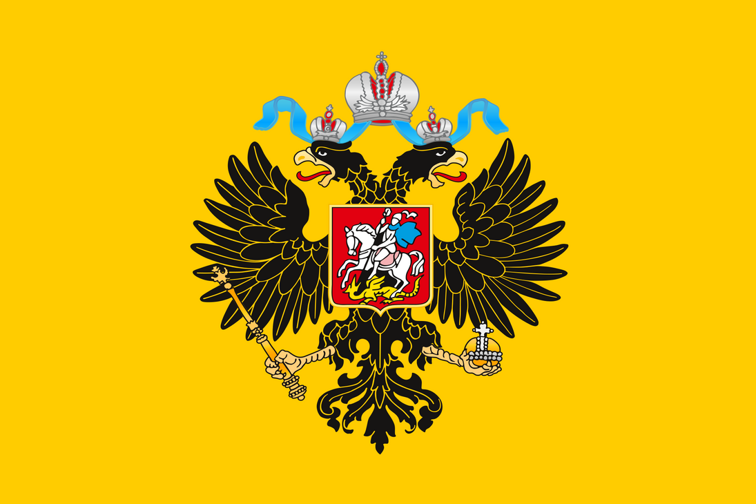 Russian Empire Banner by ShitAllOverHumanity