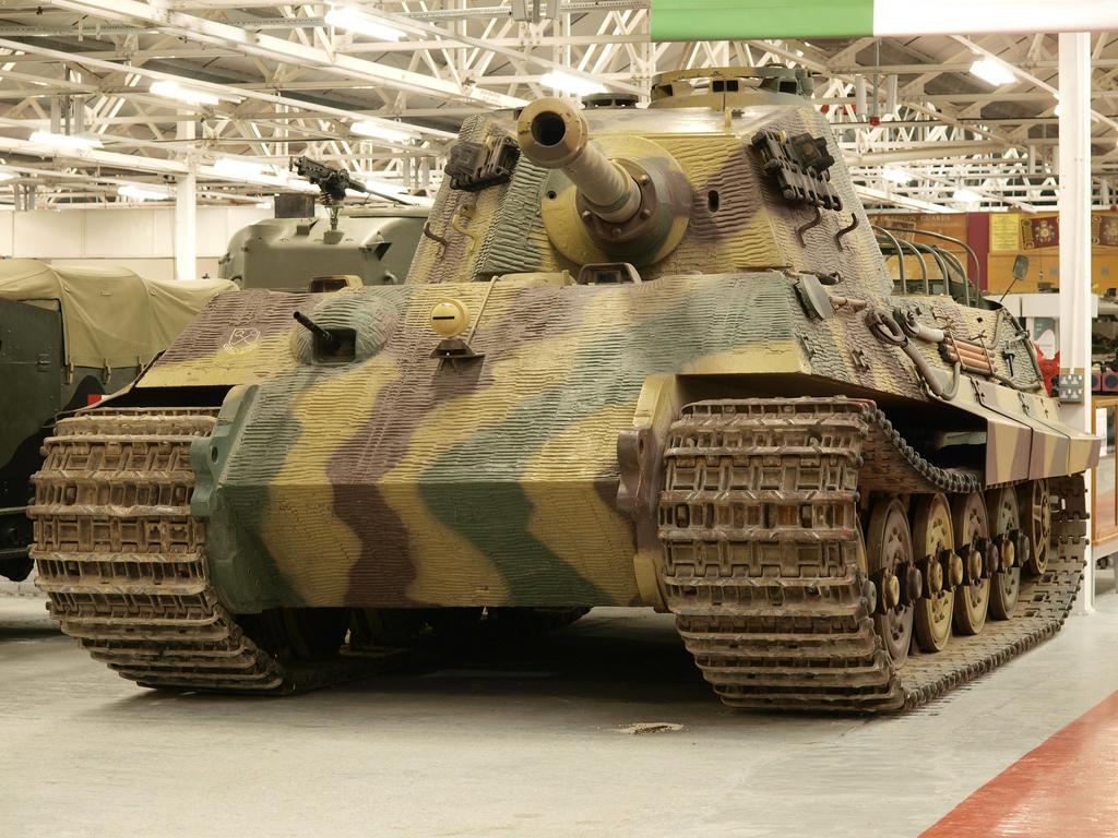 King tiger tank - photo#15