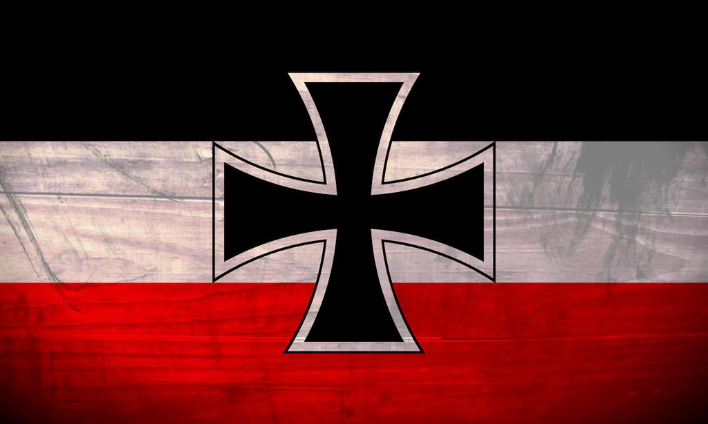 German Empire Iron Cross Flag By ShitAllOverHumanity