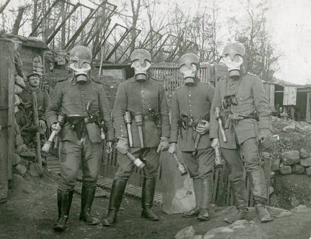 WW1 German Empire Grenadiers