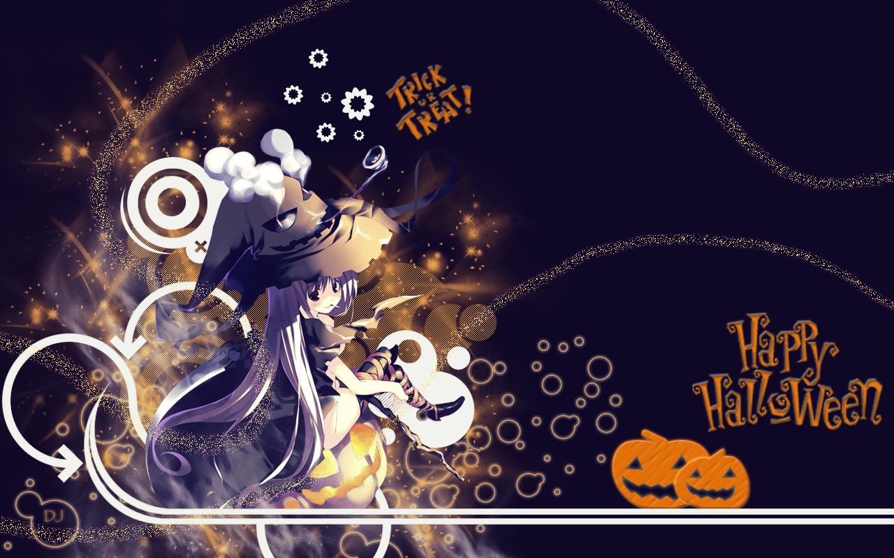 Halloween Anime Wallpaper 001 by hydrojester on DeviantArt